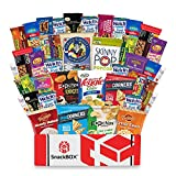 Healthy Snacks Care Package Snack Box (40 Count) for College Students, Exams, Finals, Valentines...
