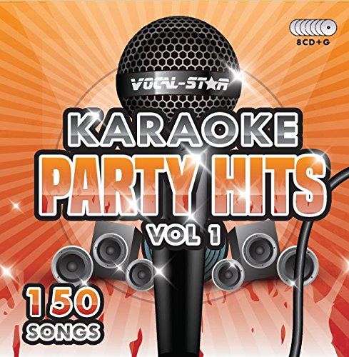 Karaoke Party Hits CDG CD+G Disc Set - 150 Songs on 8 Discs Including The Best Ever Karaoke Tracks Of All Time (Adele, Edd Sheeran, Coldplay, Abba, Beatles, Frank Sinatra, One Direction and much more)