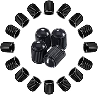 A ABIGAIL Tire Valve Caps Universal Stem Covers (30 PCS) for Cars, SUVs, Bike and Bicycle, Trucks, Motorcycles