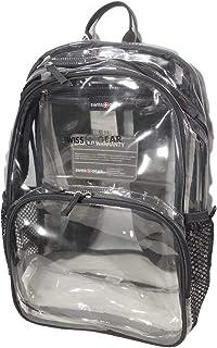 Swiss Gear CLEAR PVC BACKPACK - Transparent Clear bag, OS (SA3635)