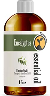 16oz - Bulk Size Eucalyptus Essential Oil (16 Ounce Bottle) - Therapeutic Grade Essential Oil - 16 Fl Oz
