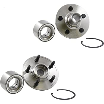 Rear Wheel Hub and Bearing Assembly Left or Right Compatible Ford Explorer Sport Trac Lincoln Aviator Mercury Mountaineer AUQDD 521000 5 Lug Hub Repair Kit