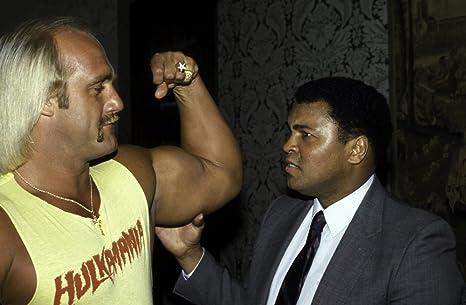 Amazon.com: Muhammad Ali and Hulk Hogan Photo Print (30 x 24 ...