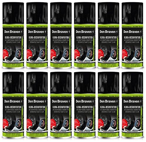 Den Braven HTS341550150 Klimaanlagenreiniger, 12-er Pack, 150 ml