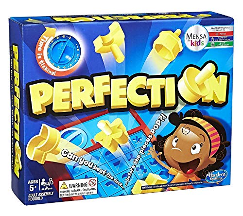 Hasbro Gaming - Juego de mesa Perfection (Hasbro C0432175)