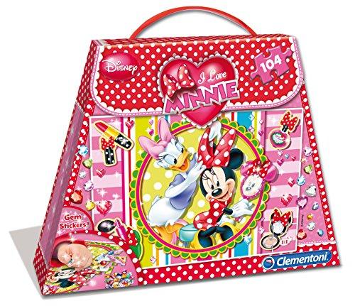 Clementoni - Puzzle Minnie Mouse de 104 Piezas (13413.7)