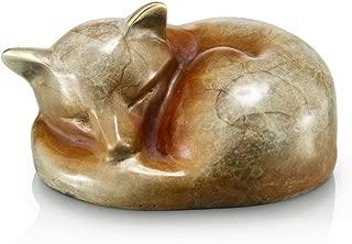 HomeBerry Fox Figurine Statue Sculpture Animal Home Decor Decoration Gift Arts Crafts Hand Painted Polyreisn 9.5cmH