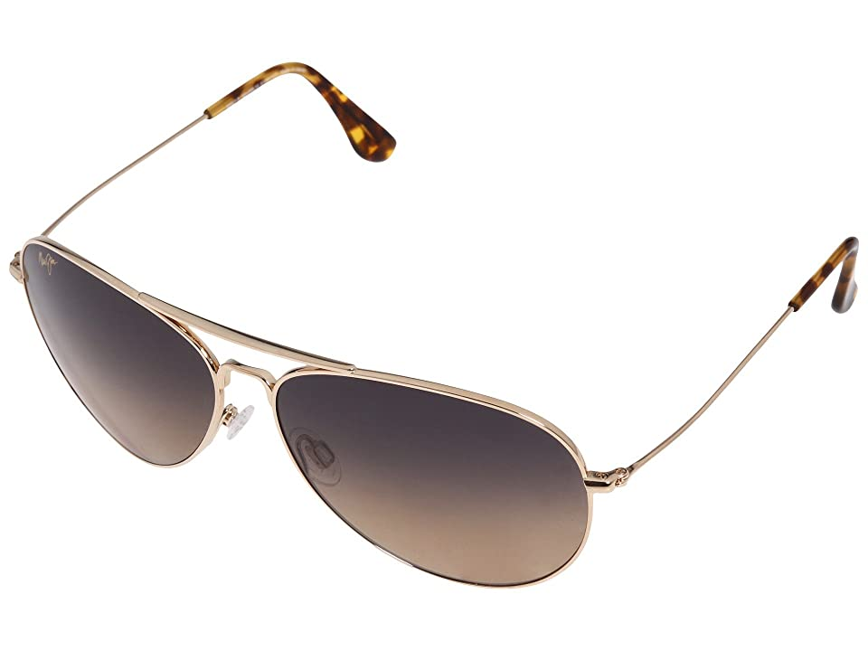 Maui Jim Mavericks (Gold) Sport Sunglasses