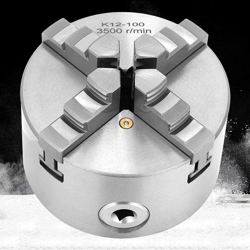 WFAANW Metal Rapid rise Popular products Lathe Chuck 4Inch 100mm Self-Centering 4 Wood Jaw