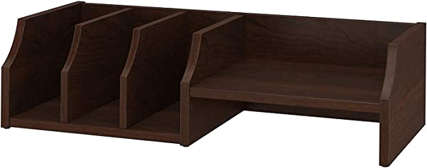 Office Home Furniture Premium Desktop Organizer In Bing Cherry