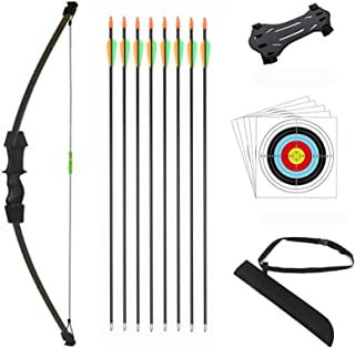 DOSTYLE Outdoor Youth Recurve Bow and Arrow Set Children Junior Archery Training for Kid..
