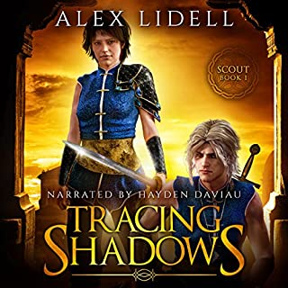 Tracing Shadows     Scout, Book 1              By:                                                                                                                                 Alex Lidell                               Narrated by:                                                                                                                                 Hayden Daviau                      Length: 6 hrs and 21 mins     Not rated yet     Overall 0.0