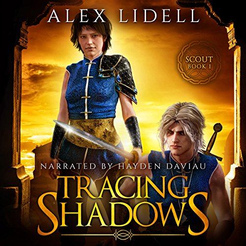 Tracing Shadows audiobook cover art