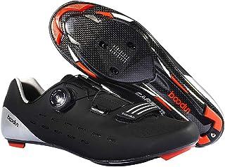 LIXADA サイクリングシューズ ビンディングシューズ メンズ カーボンファイバー 2色 超軽量 通気性 耐磨耗 衝撃吸収 ロード スポーツ サイクリング バイク サイクルシュ?ズ