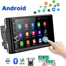 Android Car Radio 2 Din Car GPS Navi AMprime 1080P 7 inch Touch Screen Bluetooth Car Video FM Stereo MP5 Player Mirror Link + Backup Camera