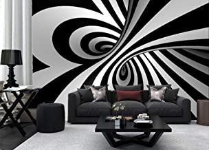 black and white swirl wallpaper for walls