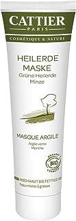 Cattier Groene geneeskrachtige aard-masker voor vettige huid, per stuk verpakt (1 x 100 ml)