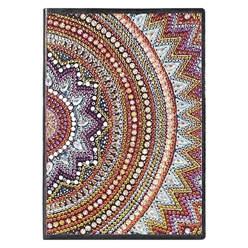VIGOAT Diamond Painting Notebook DIY Vintage Animal Pattern Special Shaped Diamond 50 Pages A5 Sketchbook Cross Stitch Crafts - 21