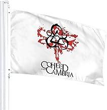 AgoodShop Home Decoration Coheed and Cambria Logo Flag Garden Flag Indoor Outdoor Flag 3x5 FT