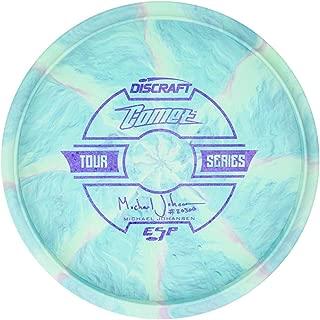 Discraft Limited Edition 2019 Tour Series Michael Johansen Understamp Swirl ESP Comet Midrange Golf Disc [Colors May Vary]