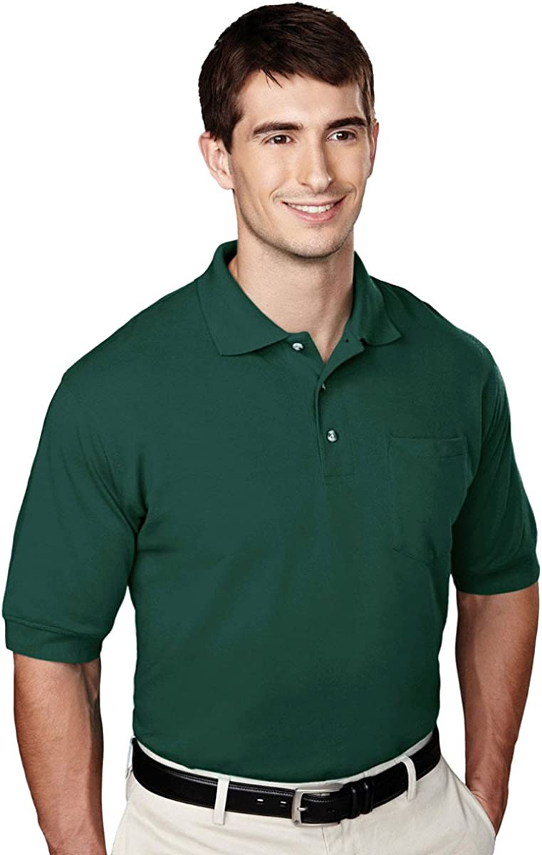 Tri-Mountain Men's Big And Tall Pocket With Max 63% OFF Shirt Spasm price Golf