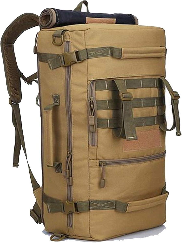 HhGold Wasserdichter Wanderrucksack Packable Tragbarer Campingrucksack (Farbe (Farbe (Farbe   Khaki) B07H3MQC6T  Leidenschaftliches Leben 6520bc