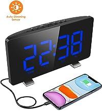 ELEGIANT Despertador Digital, Radio Reloj Despertadores