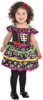 amscan 8402566 Day of The Dead Costume Set - 12-24 Months Cotton
