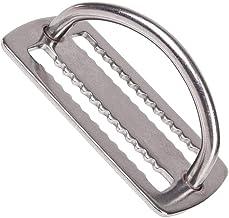Passador de Cinto em Inox Serrilhado com D-ring Cetus