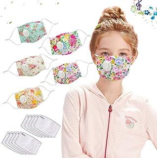 5PC Breathable Reusable Children Kid Face Cotton Fashion...
