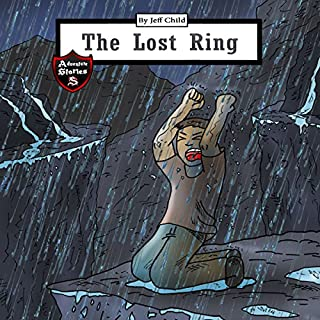 The Lost Ring audiobook cover art