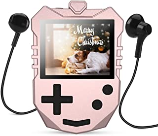 AGPTEK MP3 Player for Kids, Portable 8GB Music Player with Built-in Speaker, FM Radio, Voice Recorder, Expandable Up to 12...