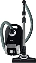 Miele Compact C1 Turbo Team Bagged Canister Vacuum, Obsidian Black