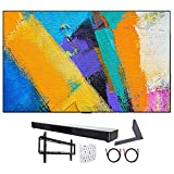LG OLED55GXPUA 55' GX 4K OLED TV w/AI ThinQ (2020) with Stand and Soundbar Bundle