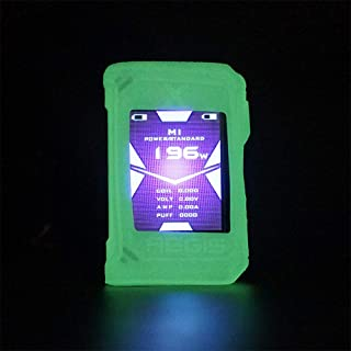 KKmod Silicone Case for Geekvape Aegis X 200W Pod Silicone Case Sleeve Skin Shield (Glow in The Dark)
