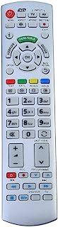 Smart TV-afstandsbediening, vervanging van televisie-afstandsbediening voor Panasonic N2QAYB000504 N2QAYB000673 N2QAYB0007...