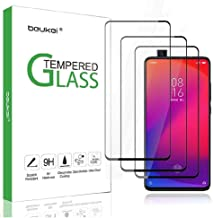 شاومي مي 9 T /مي 9Tبرو /K20 Pro / K20, استيكر واقي شاشة (3 قطع) مقاوم للخدوش والبصامات ،يغطي كامل الشاشة ،عالي الدقة