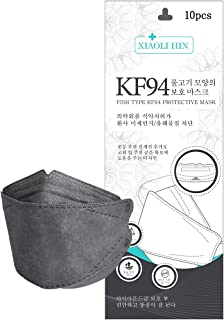 KF94マスク 個別包装 10枚入 4層構造 超快適 呼吸しやすい 立体構造 メガネが曇りにくい 口紅が付きにくい 飛沫防止 黄砂 粉塵 花粉 風邪予防 男女兼用 お出かけ安心 在庫あり XIAOLI HIN