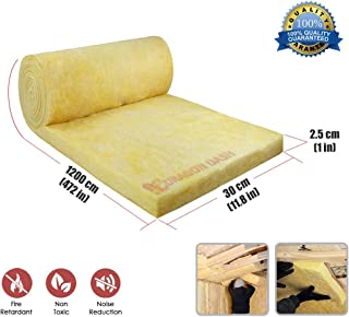 New Dragon Dash 12 Meter Mineral Wool Thermal Insulation Acoustic Soundproofing Fiber Isolation Roll DD1156