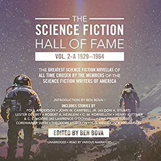 The Science Fiction Hall of Fame, Vol. 2-A audiobook cover art
