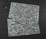 NEW PAUA BLUE sheet shell inlay 9.5 x 5.5 x 0.006 inch (1 pcs)