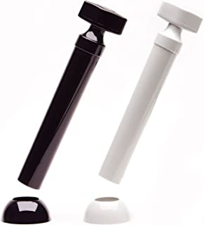 Unicorn Mills Tablestick Salt and Pepper Grinder Set w/Base Holders