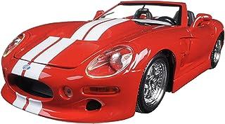 مايستو مجسم سيارة شيلبي سيريس 1 حجم 1:18 ، احمر