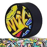 Altavoz Bluetooth portátil, Mini Altavoz Miric de 3W, Estilo Graffiti, Colores Frescos, con micrófono Incorporado, Compatible con Tarjeta SD - Patrón Aleatorio