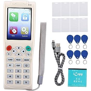 RFID Writer duplicateur de poche multi-fr/équence RFID IC lecteur enregistreur duplicateur pour cartes /à puce ID carte /à puce cl/é