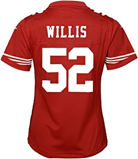 49ers patrick willis jersey