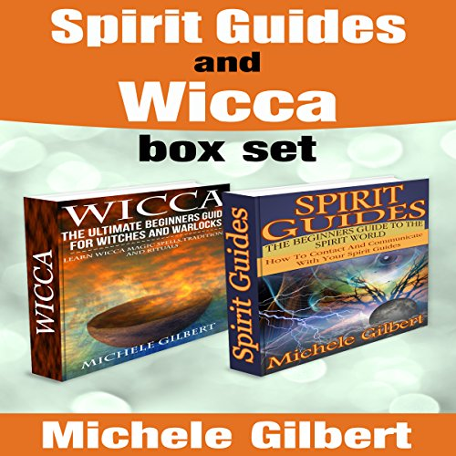 Spirit Guides and Wicca audiobook cover art