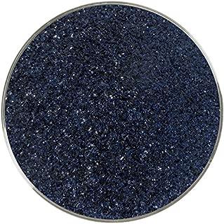 Aventurine Blue Transparent Fine Frit - 96COE - 4oz - Made from System 96 Glass