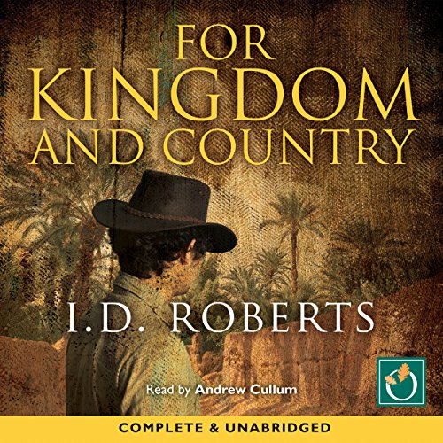 For Kingdom and Country audiobook cover art