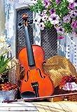 Unbekannt Puzzle 1000 Teile - Violine Stillleben - Castorland Musikinstrument Geige Musik Streicher Musikschule / Noten